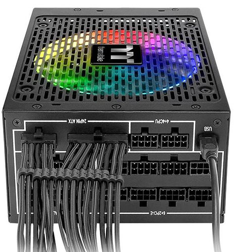 thermaltake toughpower irgb plus 1250w nappes