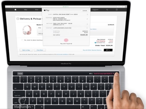 macbook pro touchid oled