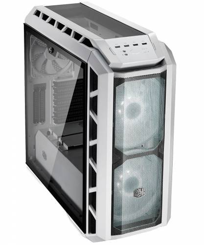 coolermaster h500p mesh white front