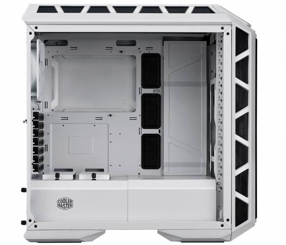 coolermaster h500p mesh white side