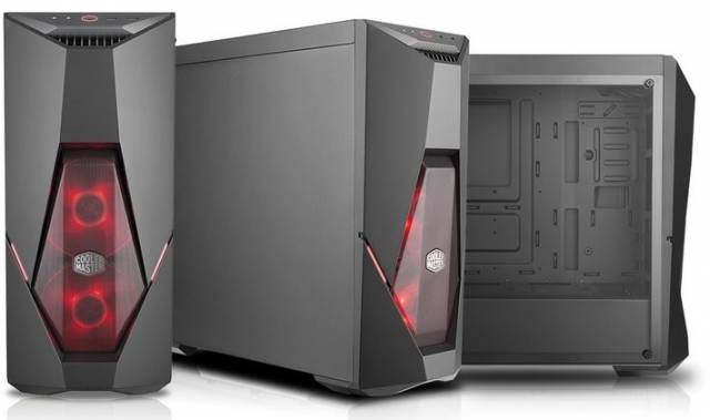 coolermaster masterbox k500l 2versions