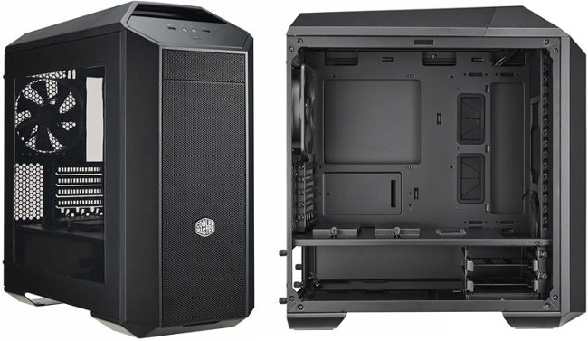 coolermaster mastercase pro 3 ouvert