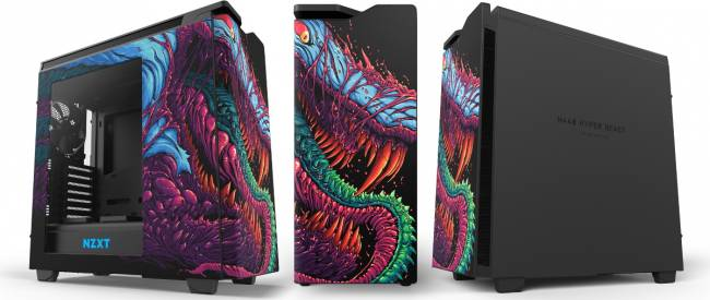 NZXT H440 Hyper Beast Limited Edition [cliquer pour agrandir]