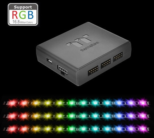 thermaltake pacific lumi rgb strip