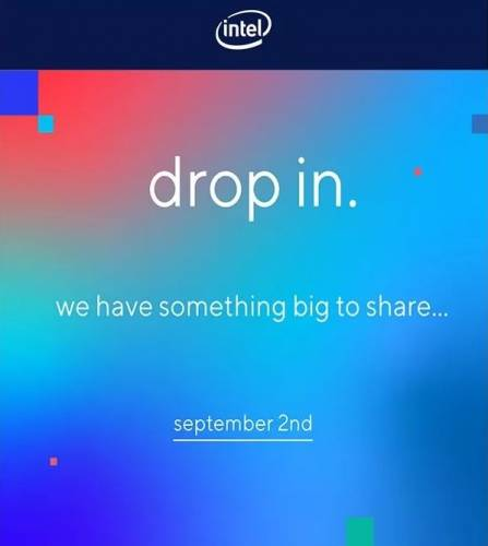 intel septembre 2 2020 something big