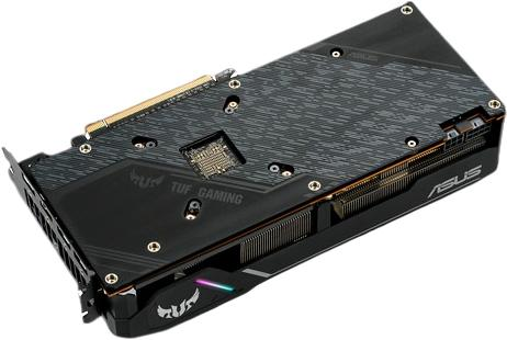 asus rx 5700 tuf gaming x3 backplate