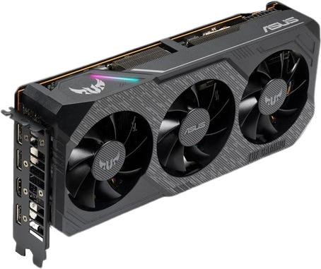 asus rx 5700 tuf gaming x3 front