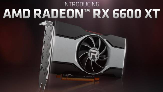 AMD officialise sa RX 6600 XT : RDNA 2 enfin accessible pour le FullHD