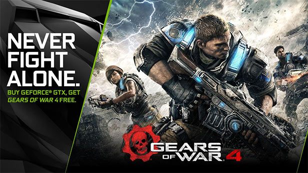 gears of war 4 nvidia bundle