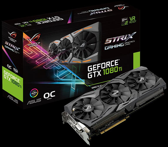asus gtx1080ti strix box