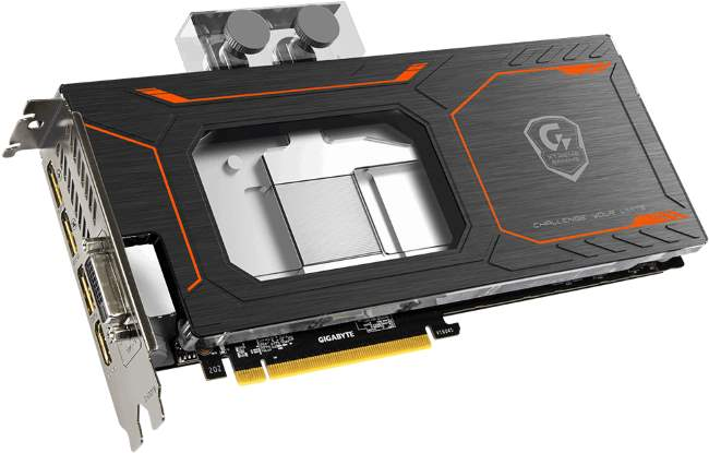 GIGABYTE GTX 1080 Xtreme Gaming Waterforce WB [cliquer pour agrandir]