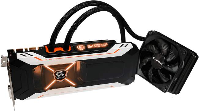 GIGABYTE GTX 1080 Xtreme Gaming Waterforce [cliquer pour agrandir]