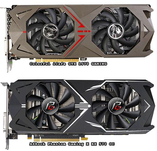 asrock colorful comparaison