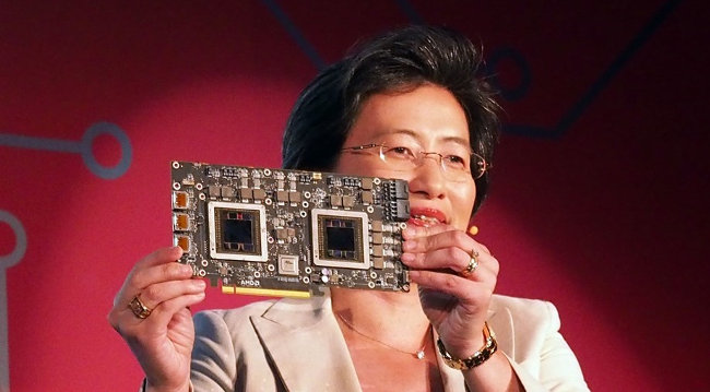 amd r9 fury x2 lisa su