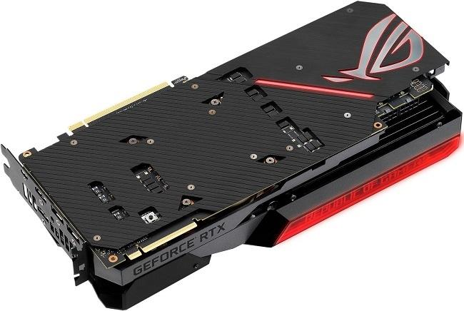 asus rog matrix rtx 2080 ti backplate
