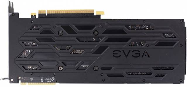 evga rtx 2080 ti black edition gaming backplate