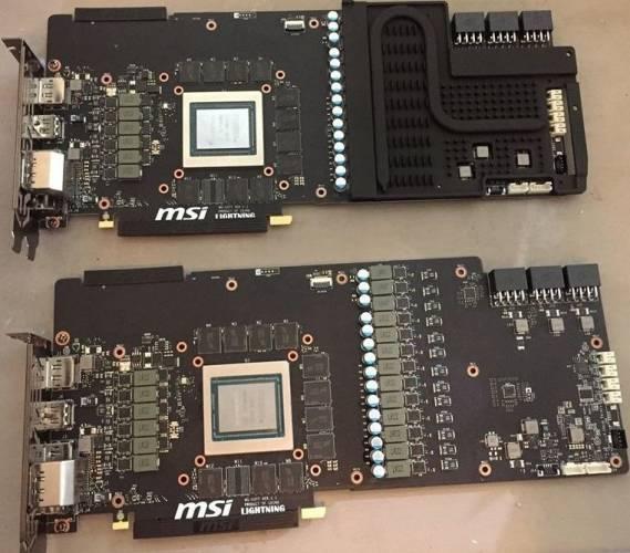 PCB pr0n : la MSI RTX 2080 Ti Lightning Z tease son monde