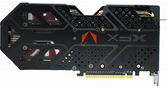 xfx vega 64 56 double edition backplate