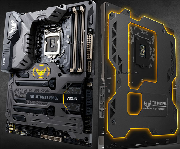 asus z270 tuf mark1 wccftech