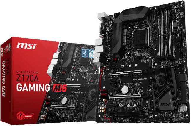 msi z170a gaming m6 box