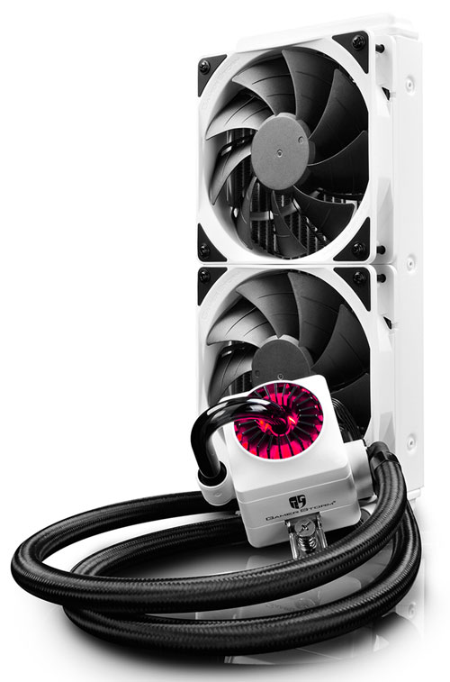 deepcool c aptain 240 ex rgb
