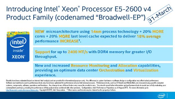 intel broadwell ep slide
