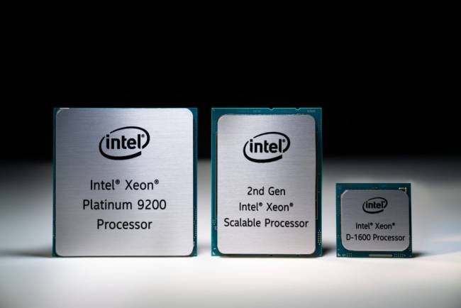 intel cascade lake family
