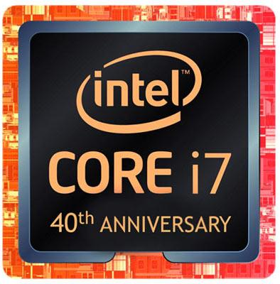 intel core i7 8086k logo