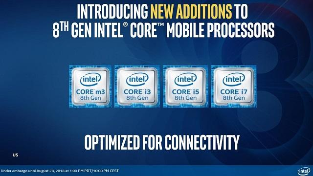 intel launch whiskey amber lake 8th gen