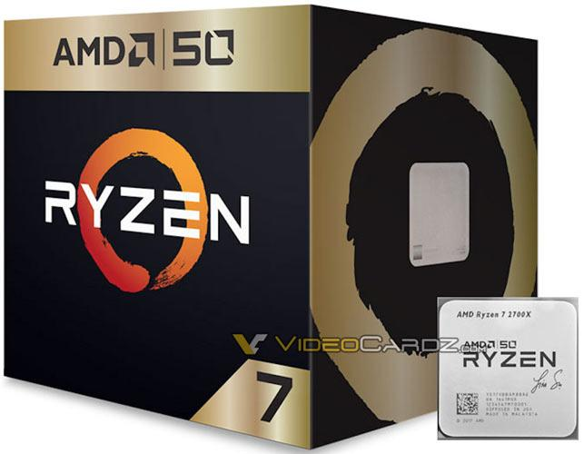 amd r7 2700x 50th anniversary vdcz