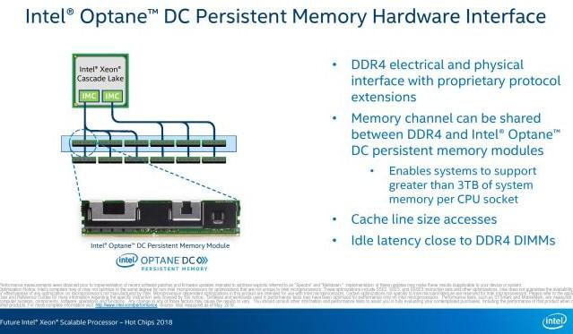 intel optane dc hot chips 2018