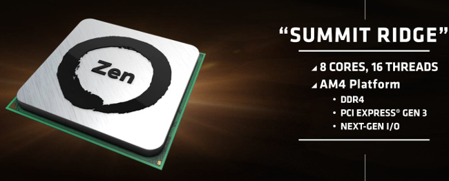 amd zen summit ridge pres