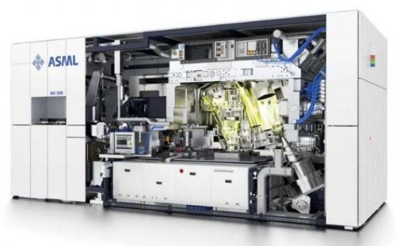 asml machine lithographie euv