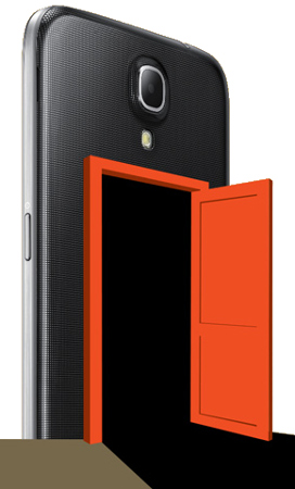 backdoor smartphone