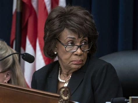 congres us maxine waters chairwoman