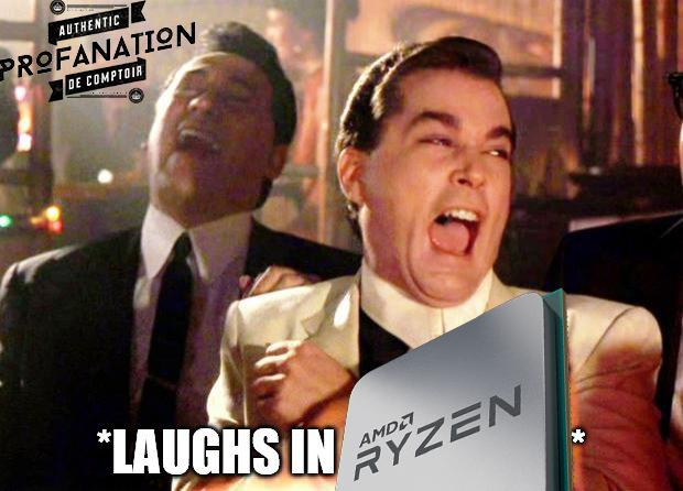 amd meme laughs in ryzen