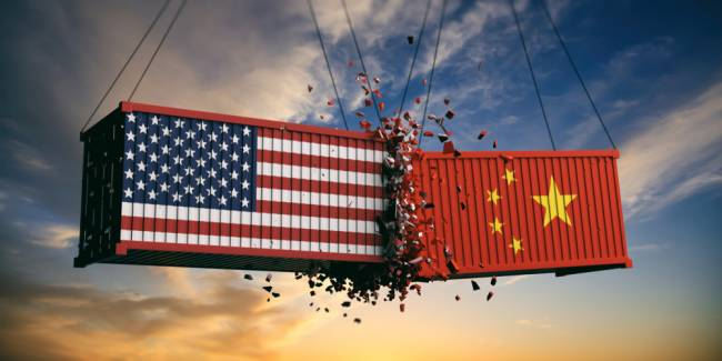 chine vs us container