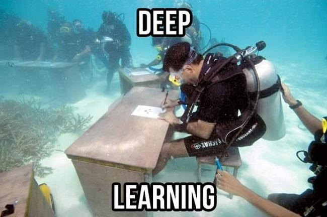 deep learning plongee