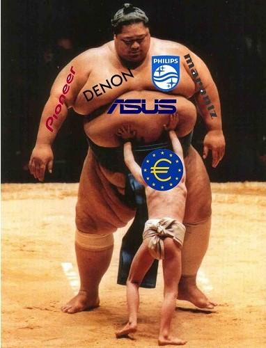 europe vs sumo compagnies