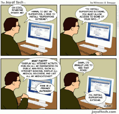 facebook privacy joke