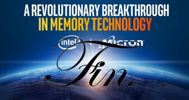 intel micron 3dxpoint the end