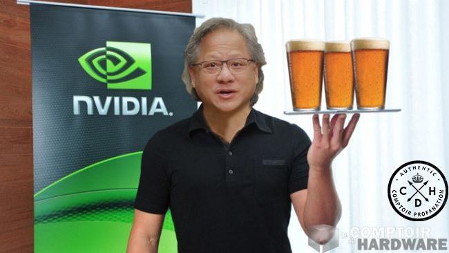 Nvidia anticipe un excellent trimestre et beaucoup de CMP HX de vendues!