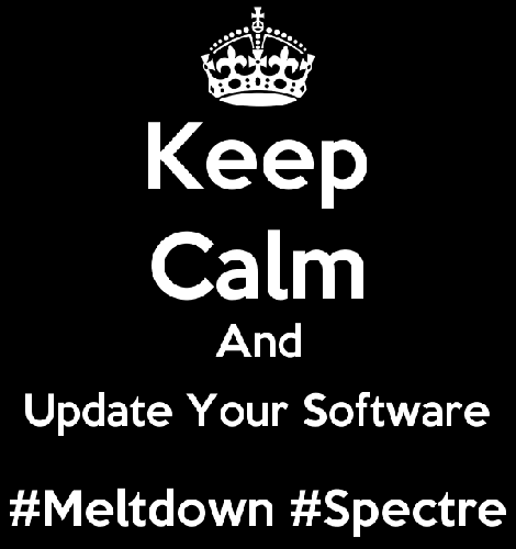 meltdown spectre keep calm