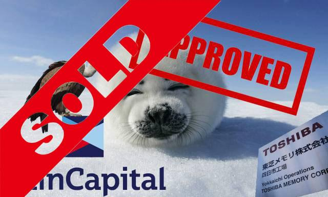 toshiba bain capital seal approval vendu