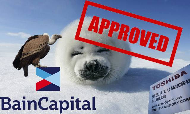 toshiba bain capital seal approval