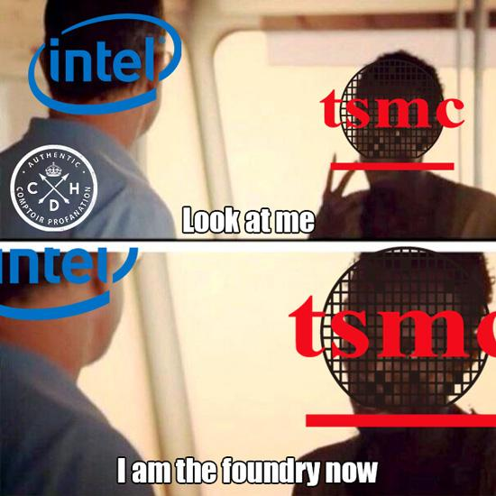 tsmc intel captain cdh