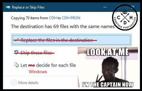windows bug fichier captain cdh