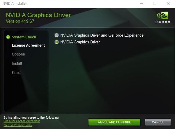 nvidia geforce experience installation