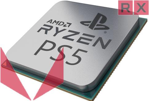 amd ryzen radeon sony ps5