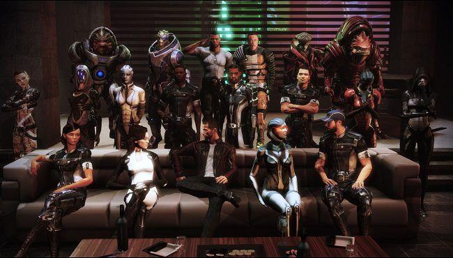 mass effect 3 citadel dlc photo de groupe